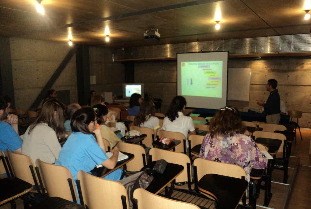 Jornadas de estudiantes de Kinesiología 2012