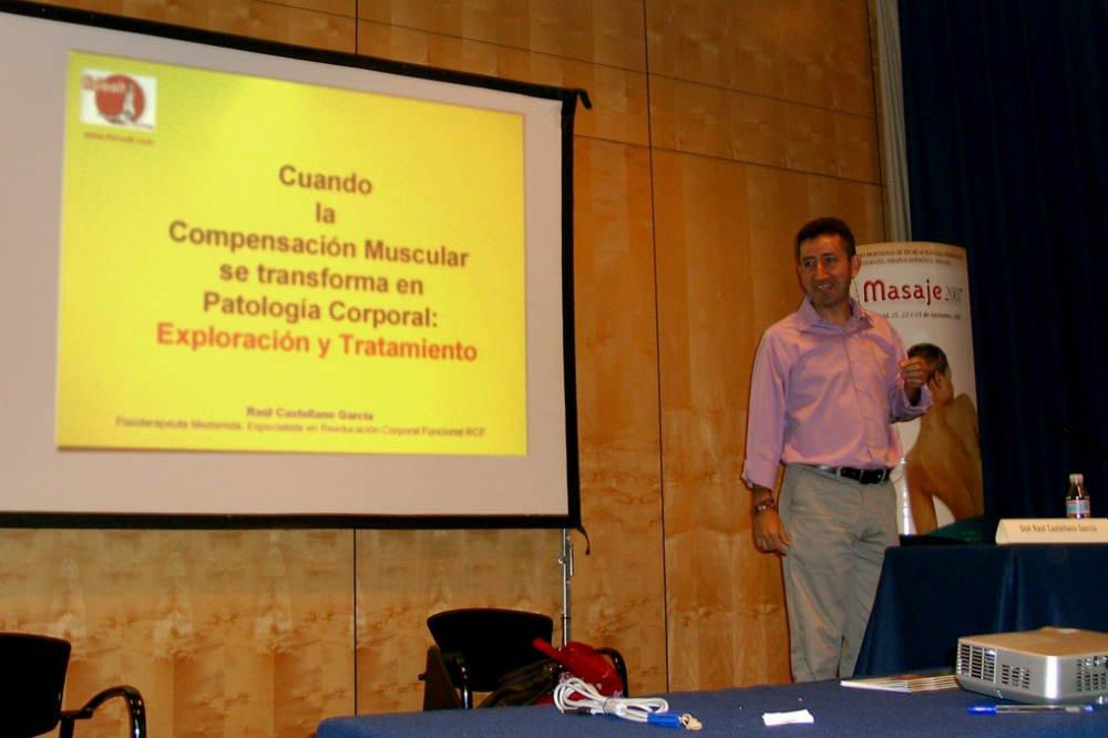 """VI Congreso Internacional de Terapias Manuales """"EXPOMASAJE 2007""""."""