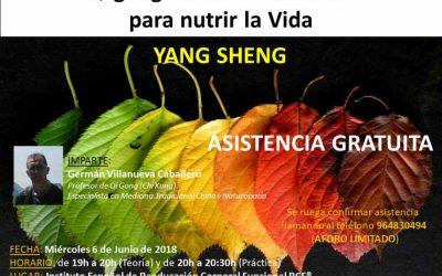 Qi Gong de las 5 Estaciones para nutrir la Vida