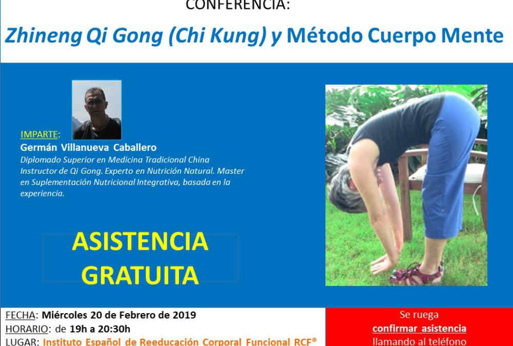 Zhineng Qi Gong (Chi Kung) y Método Cuerpo Mente