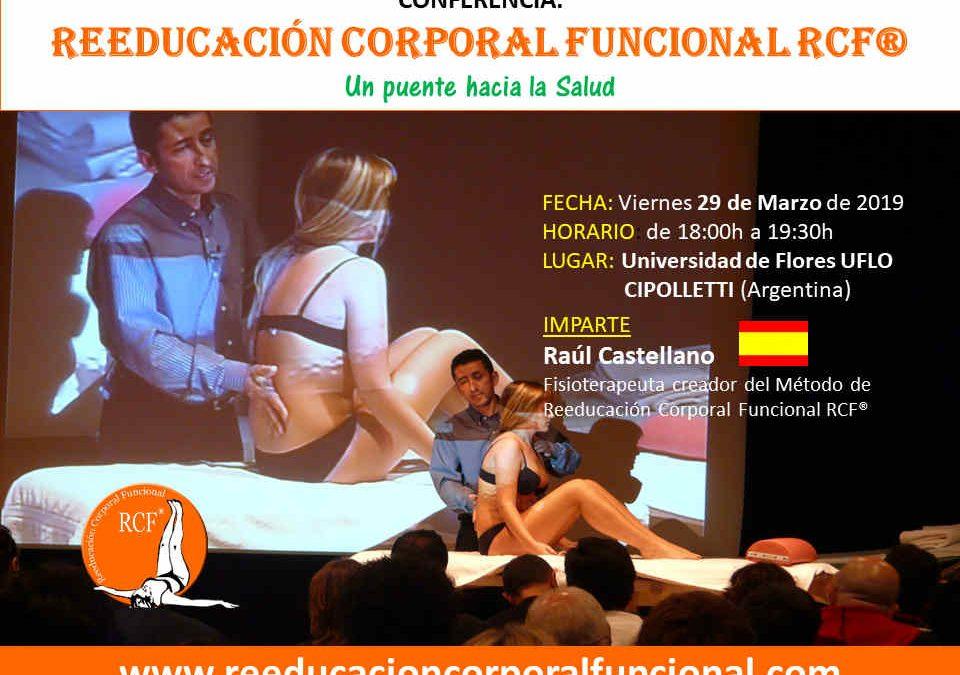 Conferencia: Reeducación Corporal Funcional RCF®