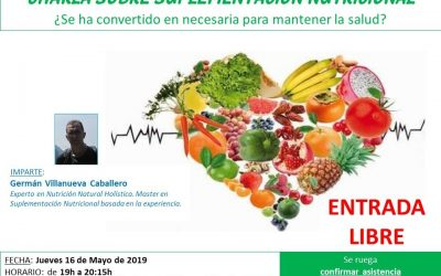 Charla sobre Suplementación Nutricional