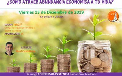 Conferencia: ¿Cómo atraer la abundancia económica a tu vida?