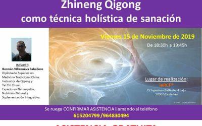 Zhineng Qigong como técnica holística de sanación