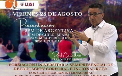 Presentación Formación Universitaria Semipresencial RCF®